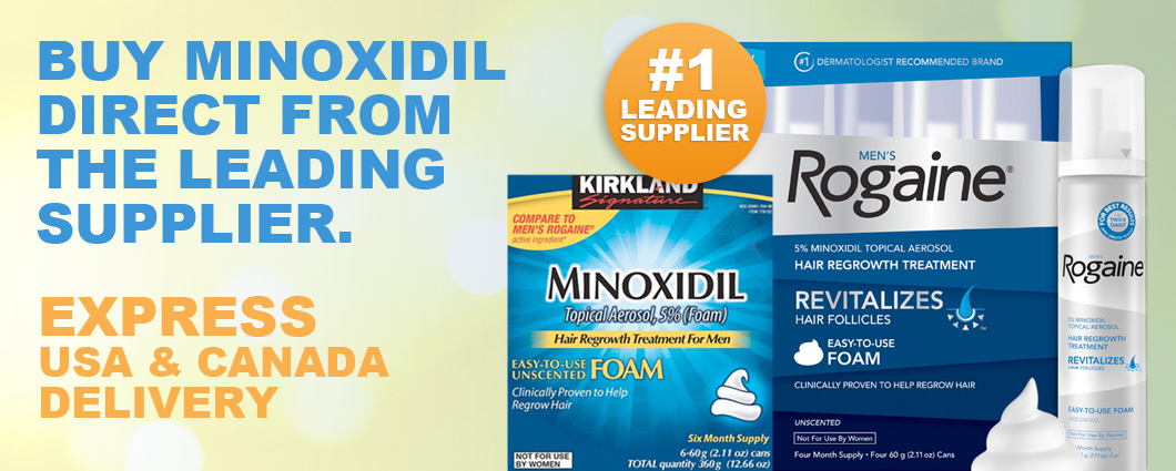 Buy Minoxidil For Men And Women From Minoxidil Direct Canada